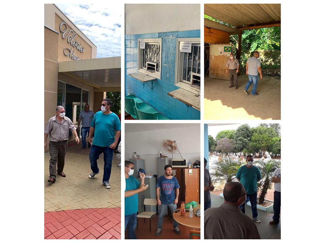 Sindissu fiscaliza condições de trabalho de serviços essenciais que continuam em atividade em Sumaré